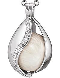 Engelsrufer Damen-Anhänger Himmelsträne 925 Silber rhodiniert Zirkonia weiß - ERP-20-TEAR-ZI-XS