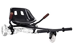 """yabbay Hover Karts with Gros Seat et Rouages Durable - Hover Kart Compatible with Balancing Boards 6.5"""", 8"""", 10"""""""