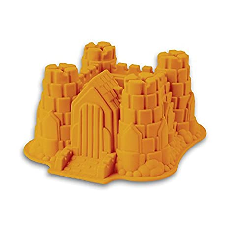 Silicone Mould Model: Knight's Castle - suitable for making Cakes and for making Jelly, Ice Cream A Great Surprise For Parties And Birthdays