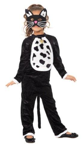 Katzenkostüm Kostüm Katze Kinderkostüm Tier für Kinder Tierkostüm Gr. 110-122 (S), 128-134 (M), 140-158 (L), Größe:M