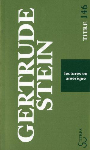 Lectures en Amrique