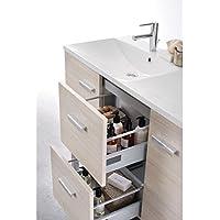 meuble woodstock 2 tiroirs argile 90cm rf 129070554 br51684