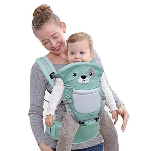 Dancui, marsupio per bebè, comodo, staccabile, traspirante, con cartoni animati