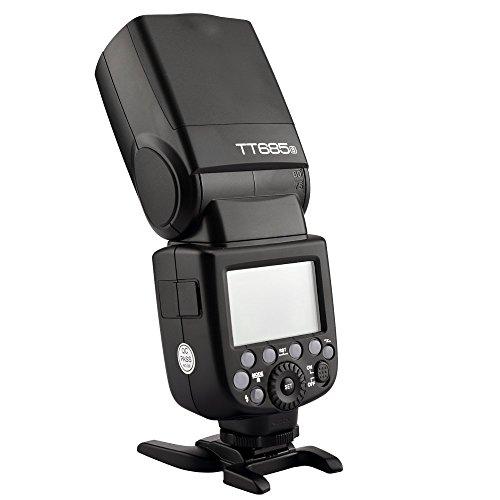 Godox Kamerablitz 2.4GHz High Speed 1 / 8000s GN60 TT685 For Nikon ,Sony , Olympus Panasonic , Fujifilm ,Canon Series Camera E-TTL II Autoflash (TT685 -S for Sonny) (Lcd-flash Panasonic)