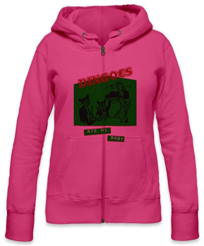 Dingoes Ate My Baby Womens Zipper Hoodie X-Large