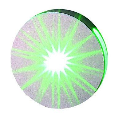 BBSLT-1W moderna luce a led con dispersione della luce design UFO rotondo Targa luce della rotella(BBBY) , Green