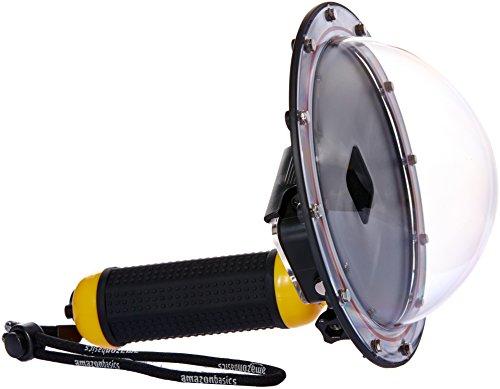 AmazonBasics - Unterwasser-Handstativ mit halbkreisförmigem Gehäuse für GoPro HERO5, Gelb