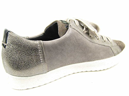 Paul Green 4428-008, Scarpe Stringate Donna Grau