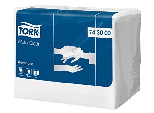 Tork 743000 starkes Waschtuch Advanced 8-lagig / weiche Pflegetücher für die Pflege von Patienten / strapazierfähig & effizient / 1 x 650 Tücher (20 x 19.8 cm)