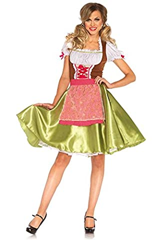 Leg Avenue Darling Greta Costume - 85508 (Women: