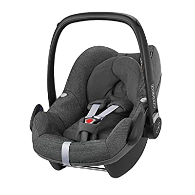 Maxi-Cosi Pebble Group 0+ Car Seat, Sparkling Grey  DWD-Company