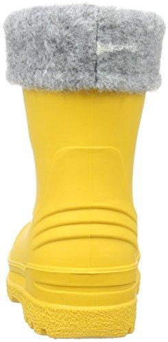 Kavat Gimo Wp, Bottes et bottines à doublure chaude mixte enfant Jaune - Gelb (Yellow 930)