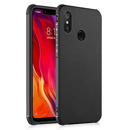 Hevaka Blade Xiaomi Mi 8 Funda - TPU Carcasa Smart Case Cover para Xiaomi Mi 8 - Negro