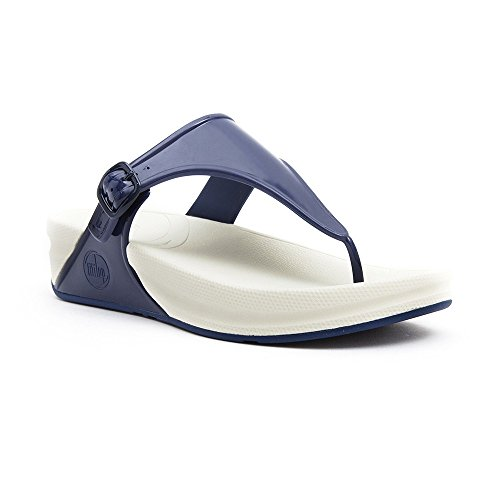 Fitflop Flip Flops - Fitflop Superjelly Flip Fl... French Navy