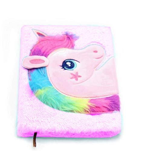 Beautiful Unicorn Notebook Diary for Kids/Girls/Boys (Pack of 1) (Pink)