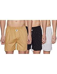 Amazon Brand - Symbol Men's Boxers (Pack of 3)