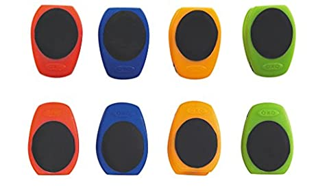 OXO Good Grips Magnetic Mini Clips - Assorted Colours, Pack of 8