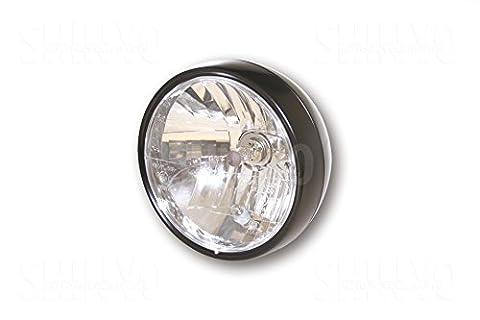 Shin Yo 223–053Headlamp, 61/2Inch Black Satin Finish
