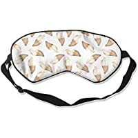 Eye Mask Eyeshade Feather Picture Sleeping Mask Blindfold Eyepatch Adjustable Head Strap preisvergleich bei billige-tabletten.eu