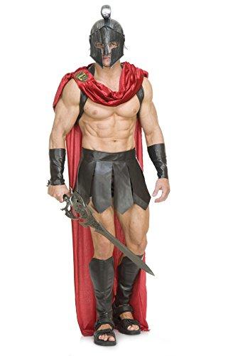 Spartan Warrior Kostüm Erwachsenen Für - Erwachsene Spartan Warrior Kostüm