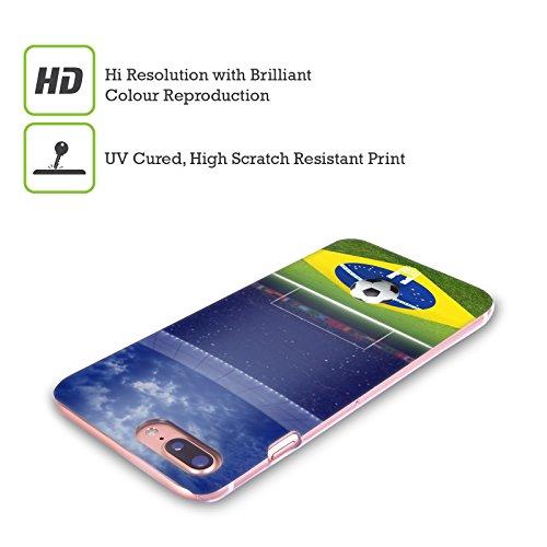 Head Case Designs Goal Brasiliano Scatti Del Calcio Cover Retro Rigida per Apple iPhone X Stadio Di Calcio Illuminato Di Notte