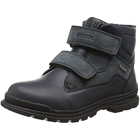 Geox Jr William B Abx A, Botas Chukka Para Niños