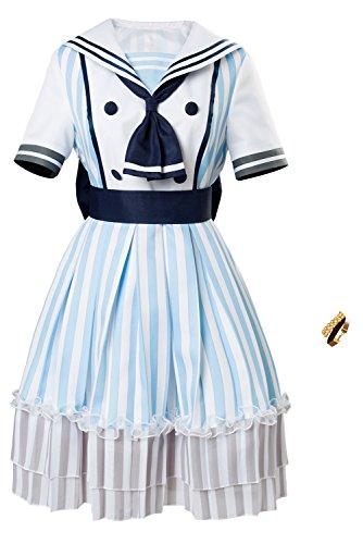Karnestore LoveLive Nozomi Tojo Dress Cosplay Kostüm SSR Pirate Ver Damen XXXL (Nozomi Tojo Cosplay Kostüm)