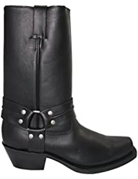 Grinder Mens 2001 Harness Hi Leather Boots
