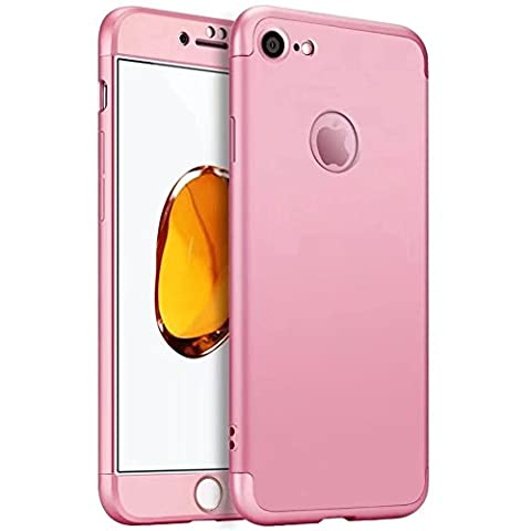 iPhone 6 Plus Case,iPhone 6S Plus cover TXLING 360 Degree Protection 3 in 1 Slim Cover Shockproof Shell Full Body Coverage Protection Case For iPhone 6 Plus/6S Plus 5.5 - Pink
