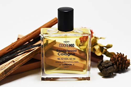 Odore Mio Sandalwood Cologne 50 ml EDC Organic Perfume Spray - Sandalwood Edc Spray