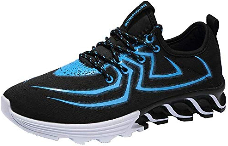 Oudan Scarpe da Corsa estive da Uomo scarpe da ginnastica alla Moda (Coloreee   8, Dimensione   40EU 7US) | Ideale economico  | Uomo/Donna Scarpa