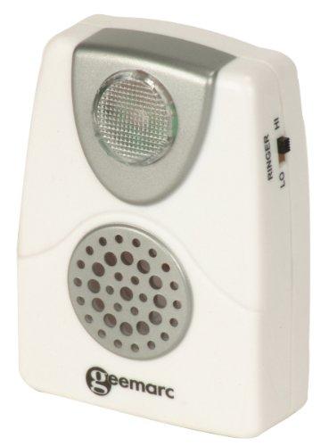 Geemarc CL11 Amplificateur de sonnerie Blanc (version Française)