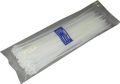 Kabelbinder, weiß, 300x3,6mm, 100 Stück von NoName auf Lampenhans.de
