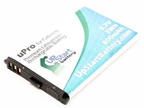 CALLAWAY UPRO - BATERIA DE REPUESTO PARA CALLAWAY GOLF GPS BATERIA UPRO (800 MAH  3 7 V  LITHIUM-ION)