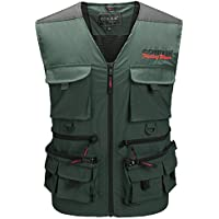 Greatrees – Giacca sportiva gilet personale Dispositivo pesca Gilet
