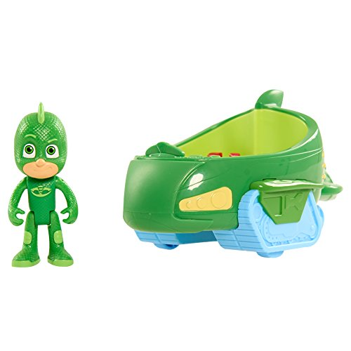Simba 109402085 - PJ Masks Gecko mit Geckomobil (Science-fiction Kostüme)