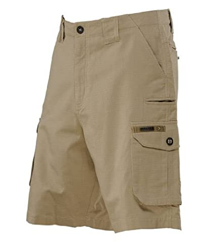 Dye Men's Cargo Shorts, Beige, Size