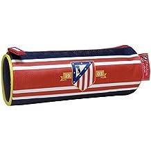 Atletico De Madrid - Estuche portatodo cilíndrico bordado (CYP Imports PT-225-ATL)