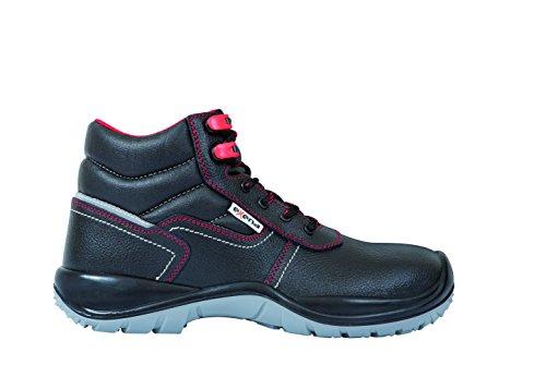 Exena 1126626124476 - Sardegna - scarpe di protezione del lavoro, dimensione 47, colore nero nero