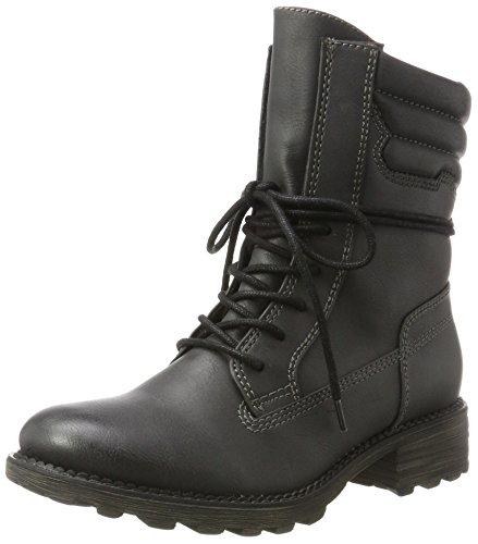 Tamaris Damen 26206 Chukka Boots, Schwarz (Black), 37 EU (Sportliche Chukka Damen)