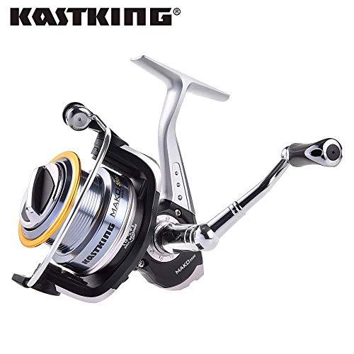 9, 2500 Series: KastKing MAKO3500 0.91M Recuperación de línea rápida Carrete Giratorio para Pesca de Agua Salada Arrastre máximo para Arrastre de Hielo 10KG