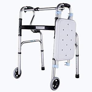 SUN HUIJIE Walker Alder aus Aluminiumlegierung Behinderte medizinische Instrumente für die Krücke Trekkingstütze Rehabilitationsausrüstung