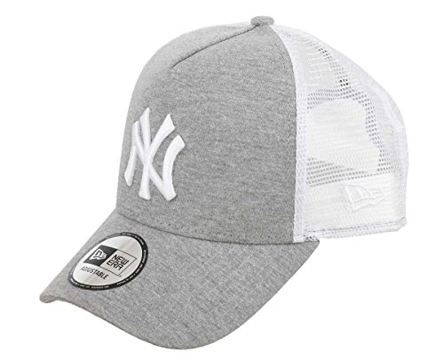 A NEW ERA Era Jersey Essential York Yankees Gray Optic White Gorra 9 Forty  Trucker 6860aabc9cd