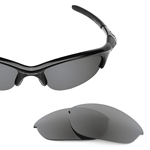 Verres de rechange pour Oakley Half Jacket — Plusieurs options Gris Ardoise - Polarisés