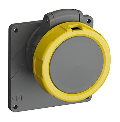 ABB 216eru4W IP672P + E abgewinkelt Panel Steckdose, Kunststoff, gelb