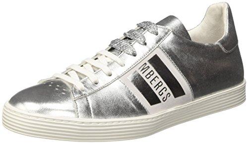 Bikkembergs Words 889, Sneakers basses femme Gris