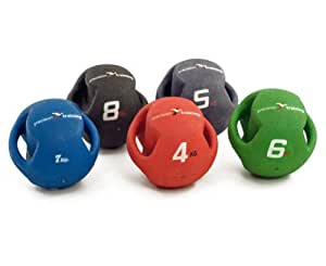 PRECISION TRAINING Twin Handled Medicine Ball 5kg
