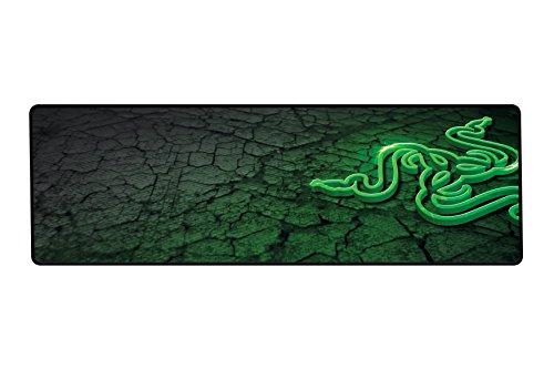 Razer Goliathus Control - schwarz-grünes Mauspad (Bild, Schwarz, Grün, Universal) -