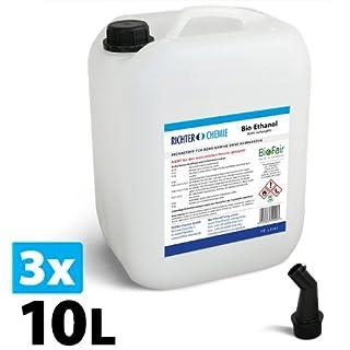 30L Bioethanol 96,6% - - Markenprodukt BioFair® - geprüfte Laborqualität - GRATIS VERSAND