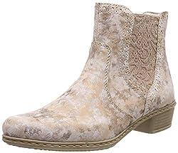 Rieker Damen Y0771-32 Chelsea Boots, Rot (Rosa/Rosa 32), 38 EU
